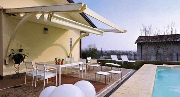 Tende Per Terrazzi Esterni: Tende per terrazzi pergolino. Pergolati